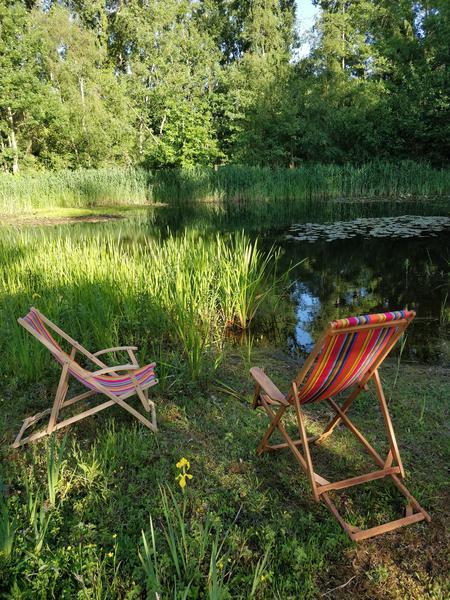Rustig kamperen aan mooie vijver #1