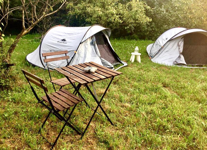 Magic tent in the garden #1