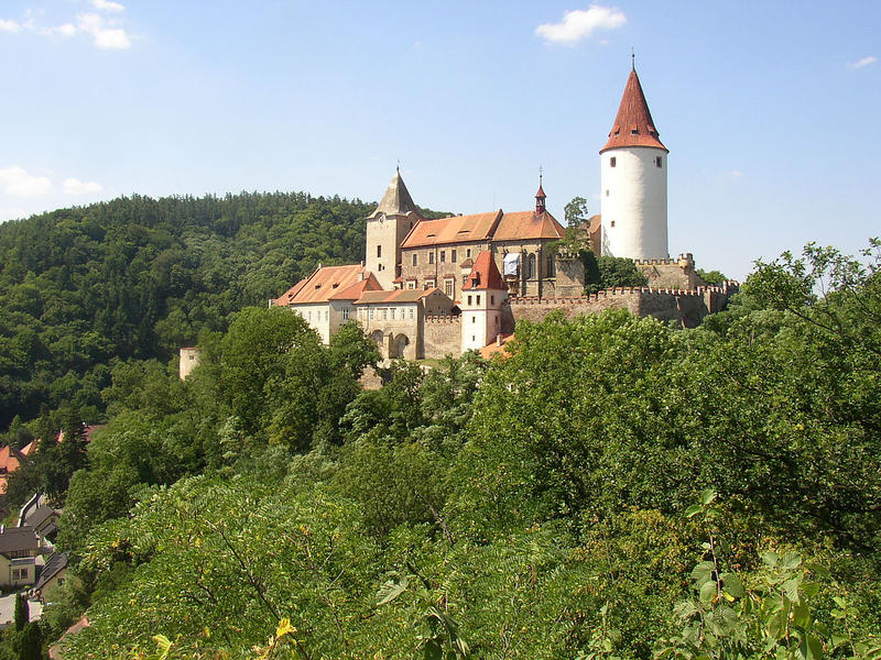 Romantic campground in canyon of Berounka river close to Prague and the Bohemian castles #14