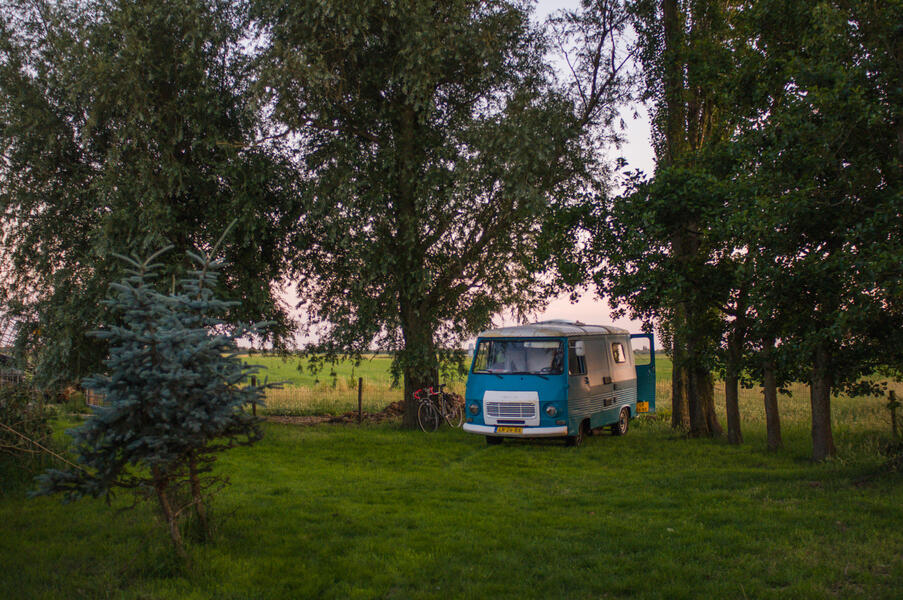 Jouw plek voor een nacht in de polder van 60 m2 #1
