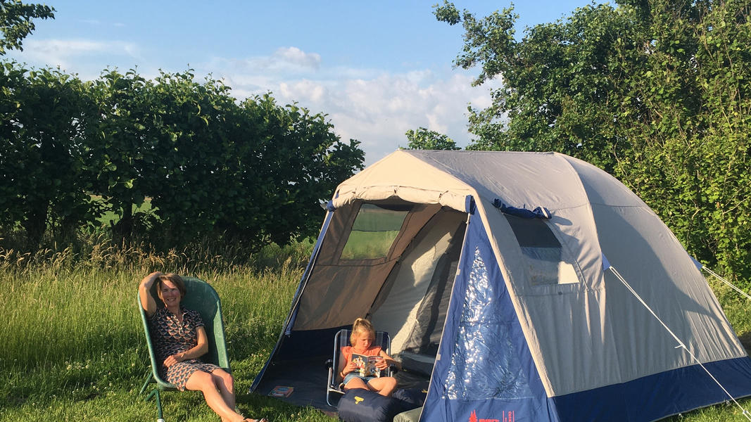 Experience the joy of the countryside in our tent #2
