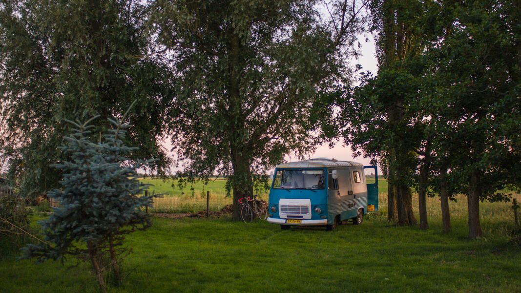 Your place for the night in the 100 m2 polder #2