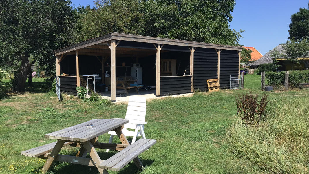 Mini campsite with swimming pond and fire places on the estate. With 2 ha of walking area. #21