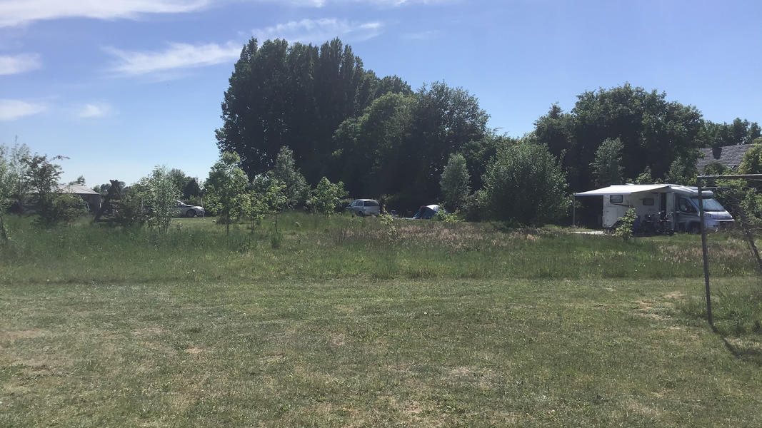 Mini campsite with swimming pond and fire places on the estate. With 2 ha of walking area. #27