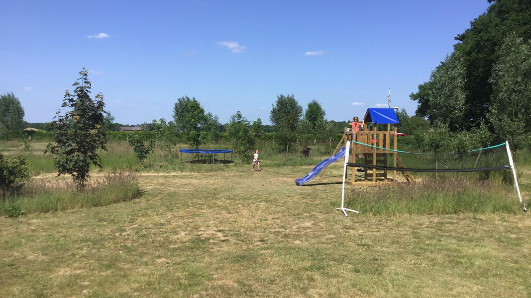 Mini campsite with swimming pond and fire places on the estate. With 2 ha of walking area. #34