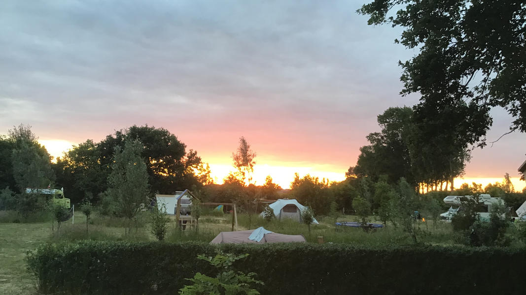 Mini campsite with swimming pond and fire places on the estate. With 2 ha of walking area. #43