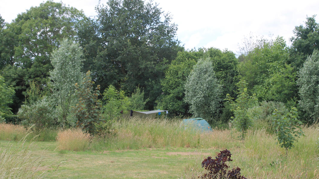 Mini campsite with swimming pond and fire places on the estate. With 2 ha of walking area. #49