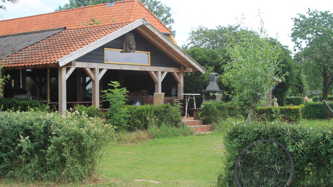 Mini campsite with swimming pond and fire places on the estate. With 2 ha of walking area. #50