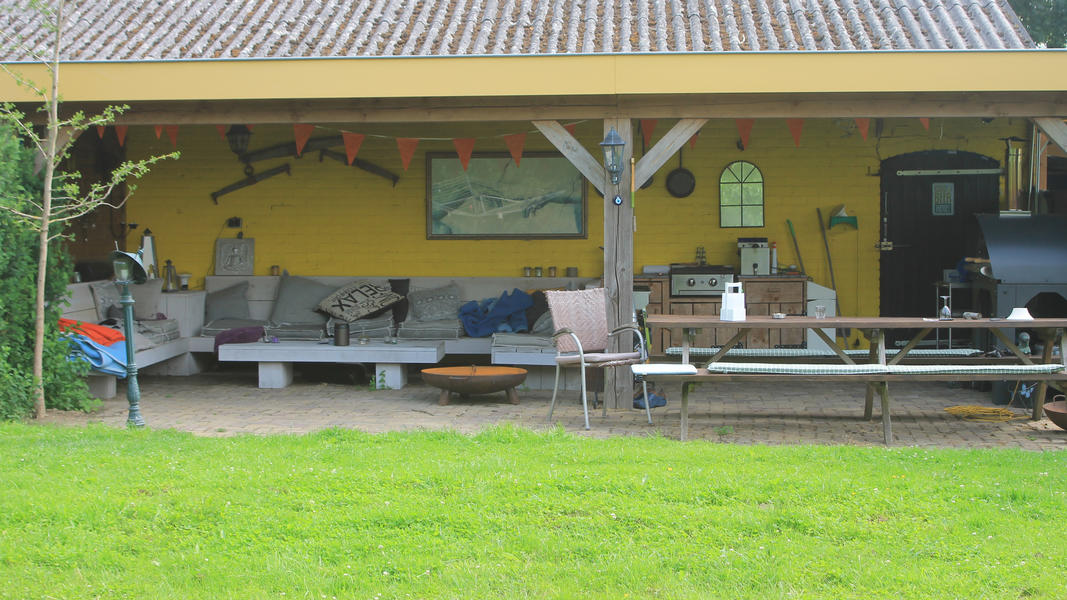 Mini campsite with swimming pond and fire places on the estate. With 2 ha of walking area. #54