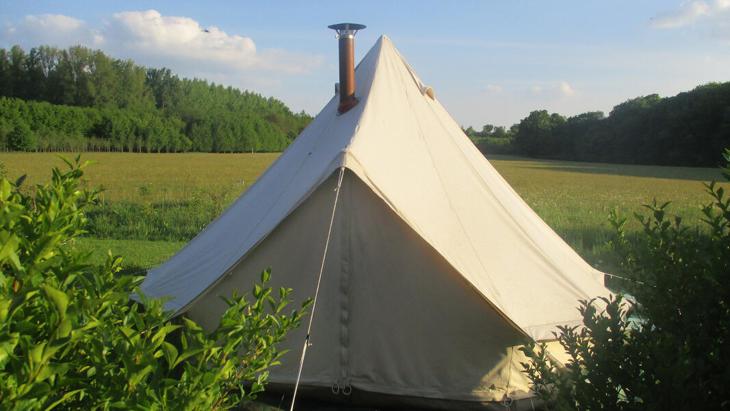 Glamping, glamorous camping in a nature reserve, in a nature reserve #3