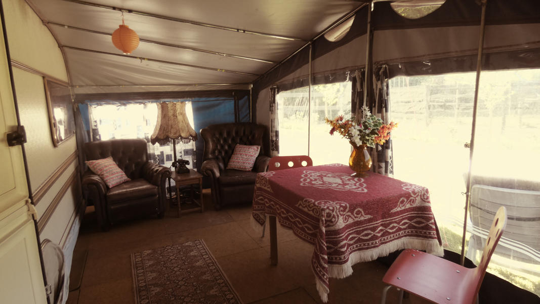 Spend the night in a retro caravan in a rural location! #2