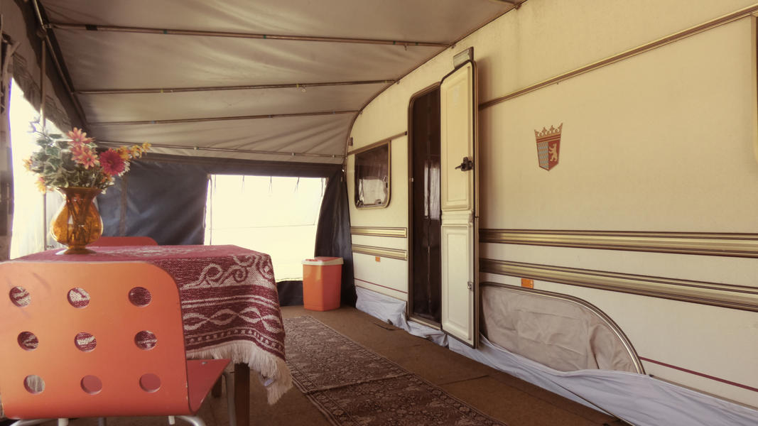 Spend the night in a retro caravan in a rural location! #5