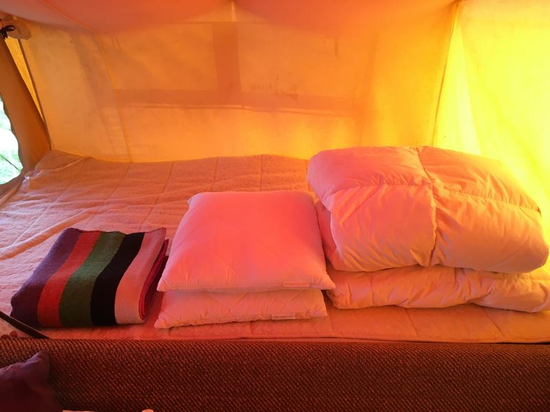 Babs furnished tent at Boerencamping in Bergen NH #2