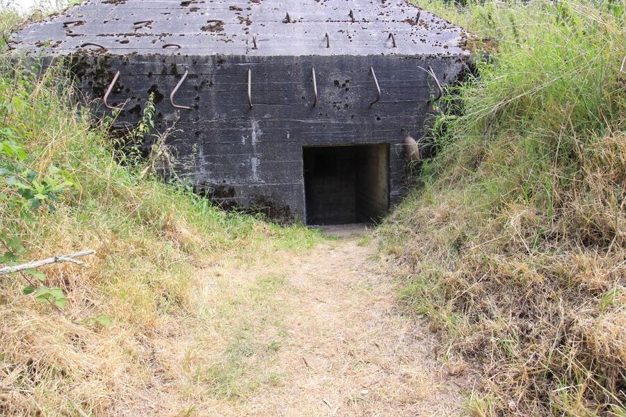 Sleeping in a Bunker! #1