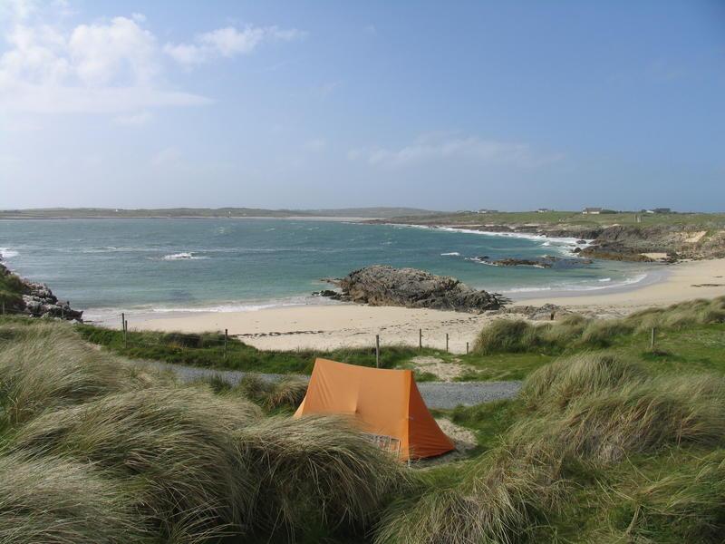 Clifden ecoCamping where Rocks & Ocean Collide #1