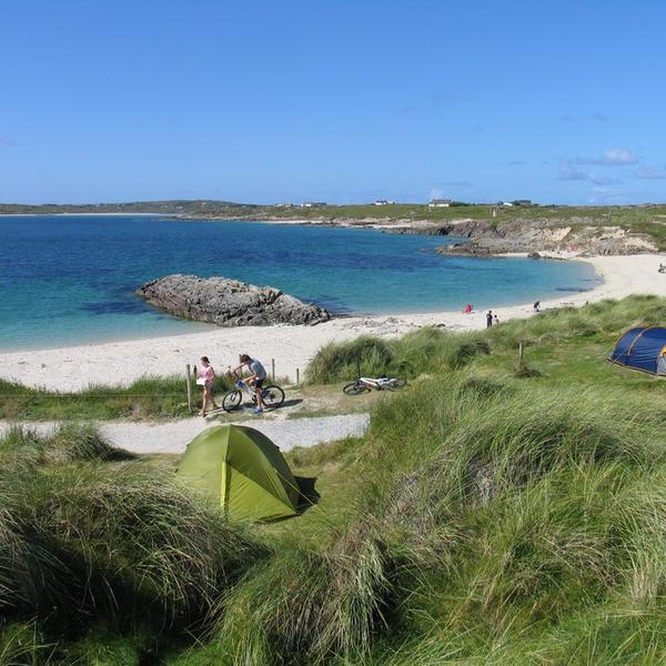 Clifden ecoCamping where Rocks & Ocean Collide #5