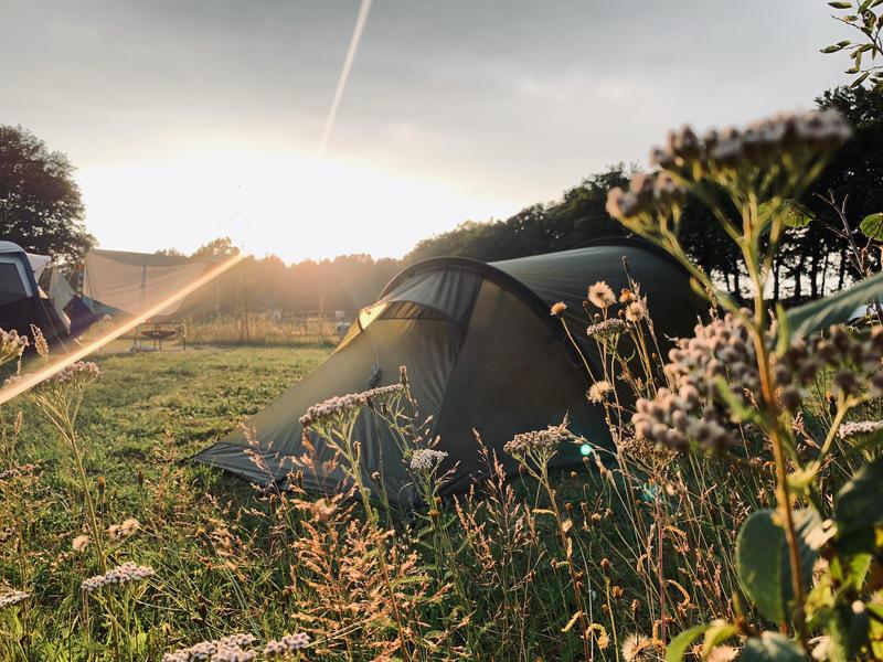 Mini farm campsite #1