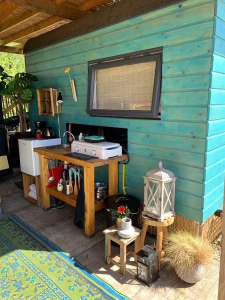 Retro caravan with private sauna en sanitary facilities in Utrecht #3