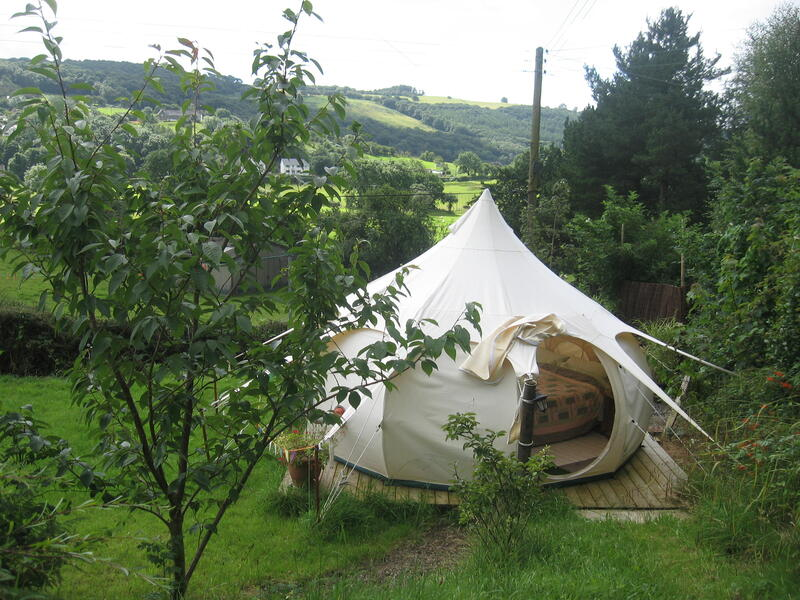 Aberystwyth Lotus Belle Tent with Hot Tub and Camp-fire! #1