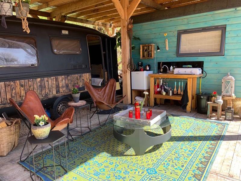 Retro caravan with private sauna en sanitary facilities in Utrecht #4