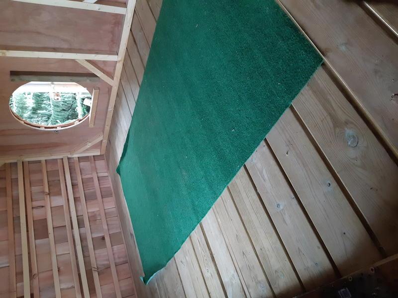 """Boomhut op 1,7 m hoogte, vlakbij Scherpenheuvel en natuurgebied """"Averbode bos"""" #2"""