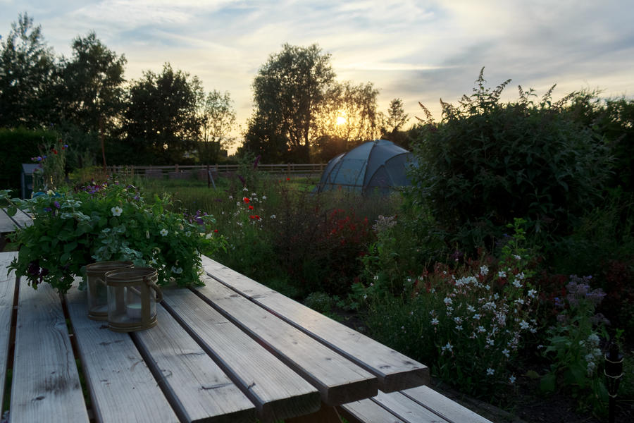 Pitch your tent at the farm #1
