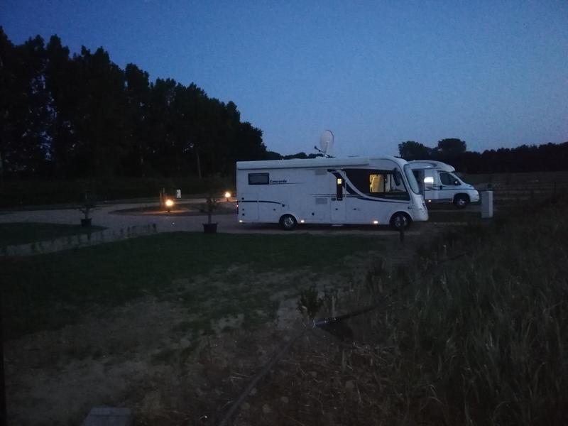 Camper camping in nature #2