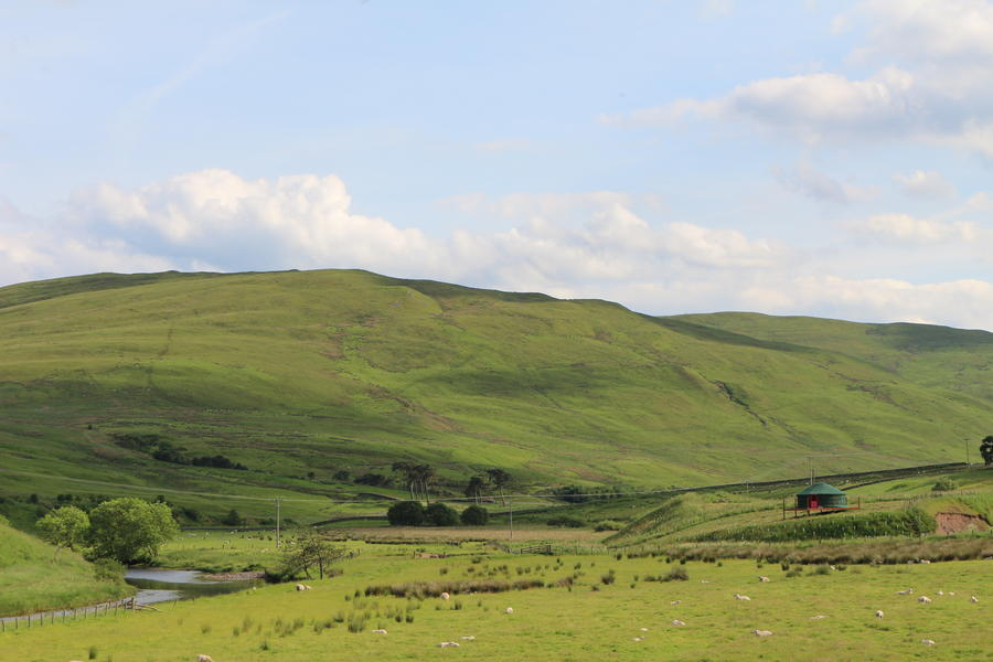 Authentic Mongolian Yurt Glamping In The Beautiful Ettrick Valley #1