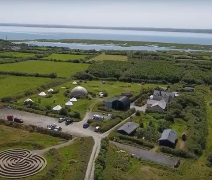 Close-to-nature Irish glamping site #2