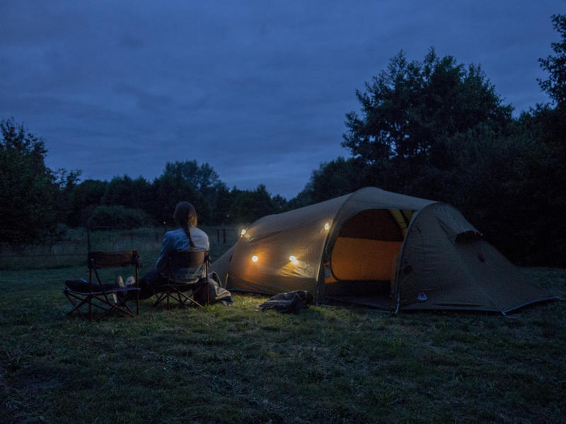 Off grid camping in Drenthe, with a bistro and luxurious shared sanitary facilities #4