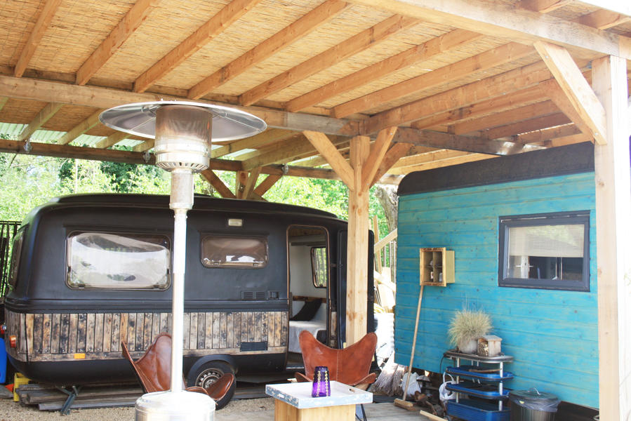 Retro caravan with private sauna en sanitary facilities in Utrecht #13