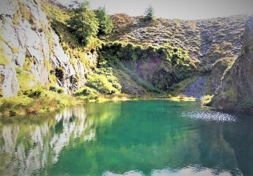 Rhydfach's valley camping #8