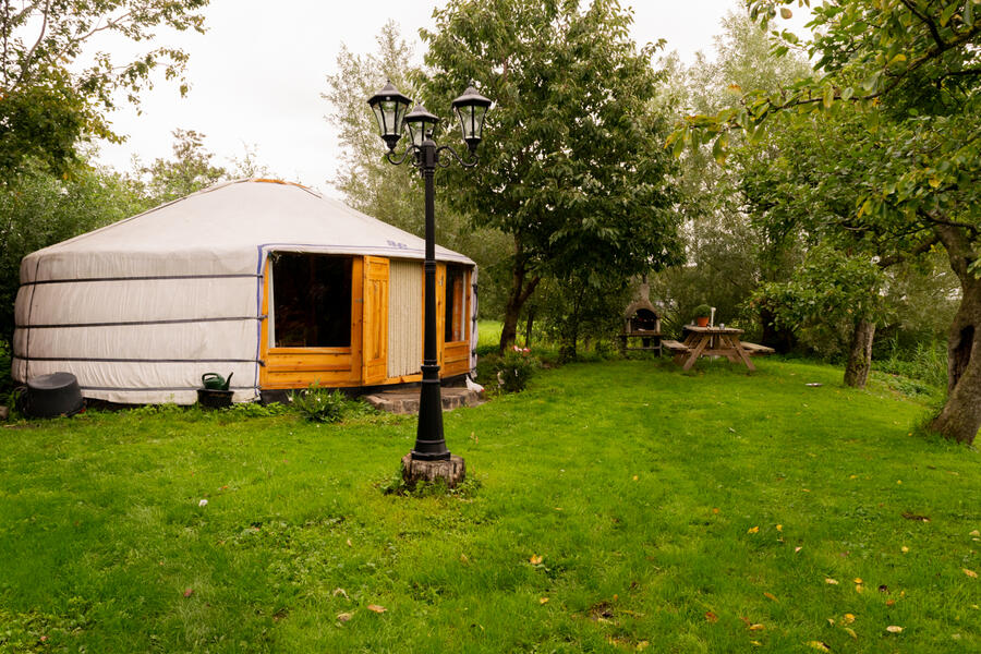 Cozy yurt in a small orchard! #1