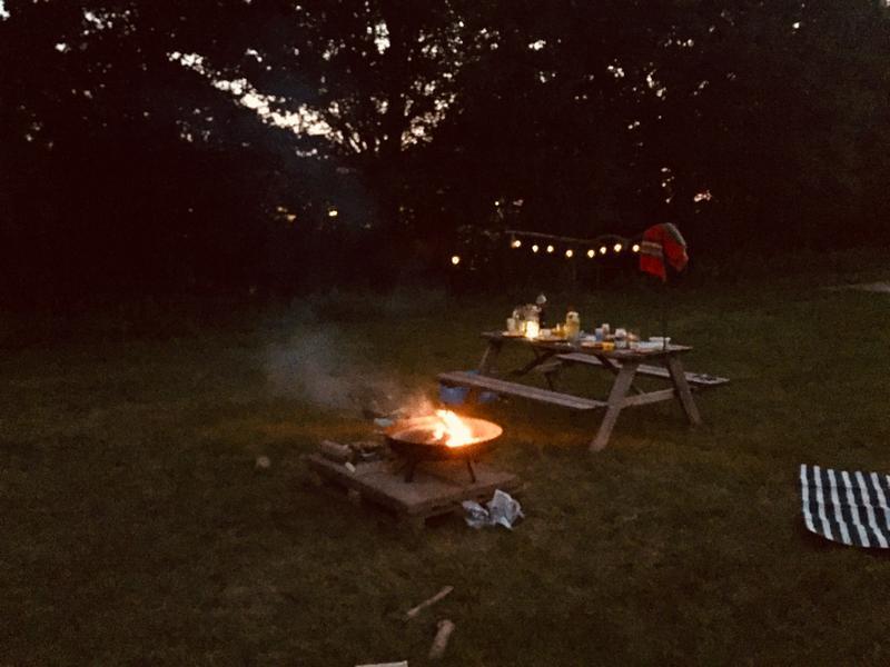 Fijne kampeerplek in het weiland  (1) #5