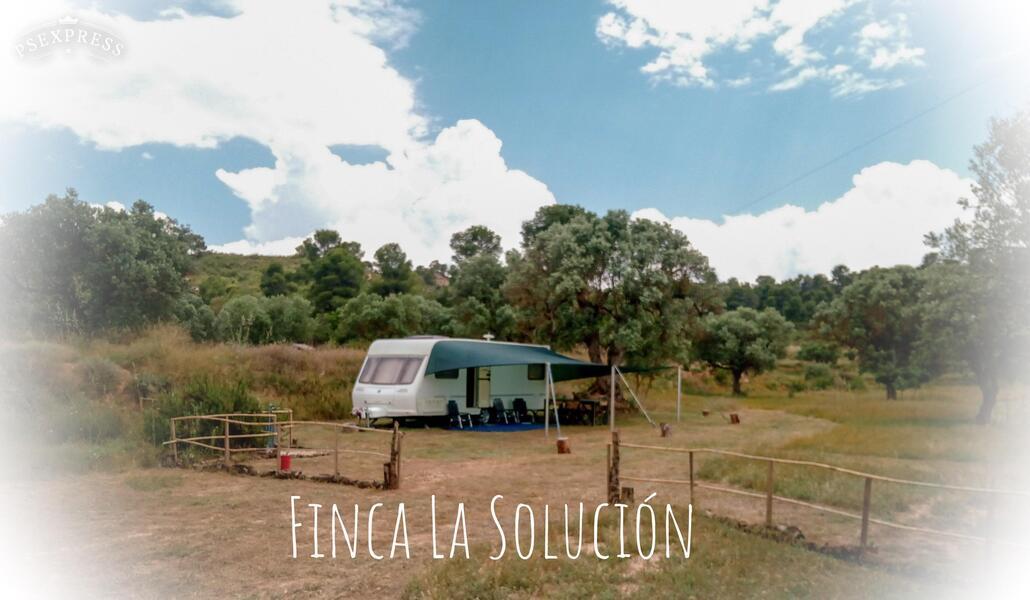 Finca_La_Solucion's Bamping de Luxe Caravana La Solucion #1