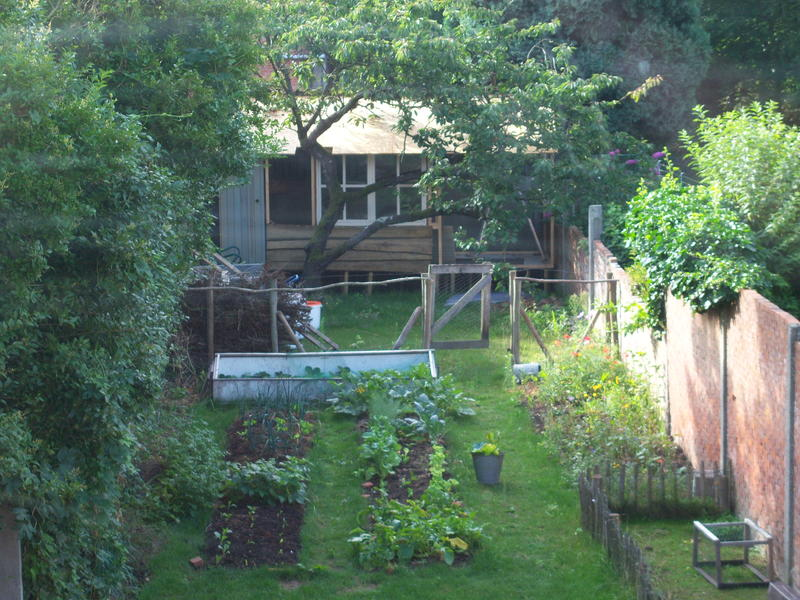 Community garden 'Warmoes' near De Molse lakes