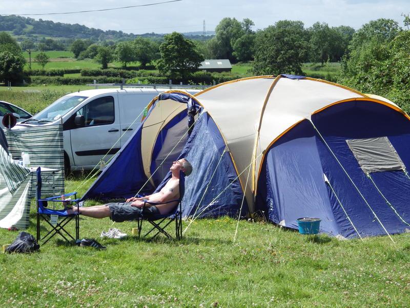 Piltonhillcamping - off site Glastonbury Festival camping #1