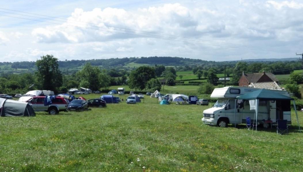 Piltonhillcamping - off site Glastonbury Festival camping #2
