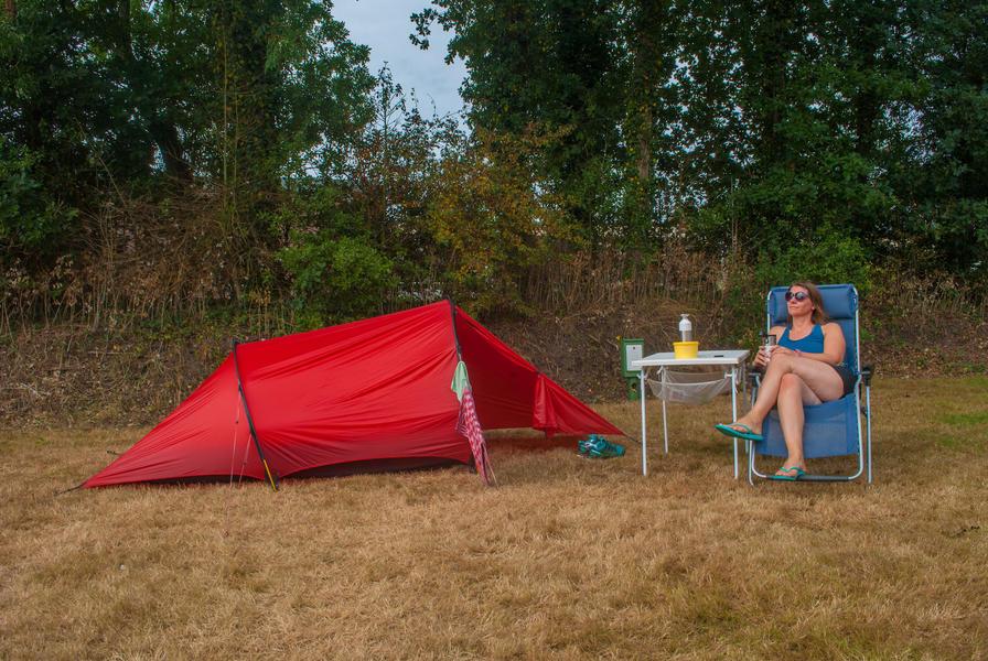 Mini campsite in Schoonoord, camping pitch #1
