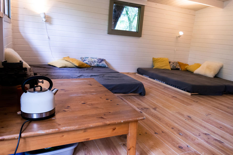 Log cabin with large private camping meadow, in a quiet area on the river Waal. #5