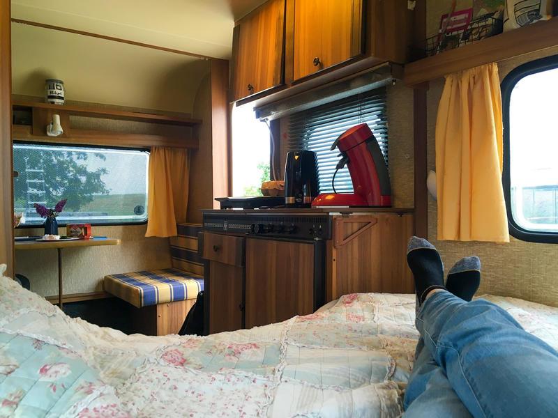 mooi Betuwe Aan de struinroute vd waal, in boomgaard  caravan met eigen sanitair #2