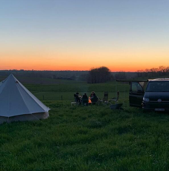 Heerlijk kamperen in hartje Vlaamse Ardennen