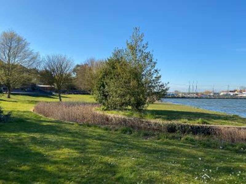 waterside camping in the historic Essex village of St Osyth #3