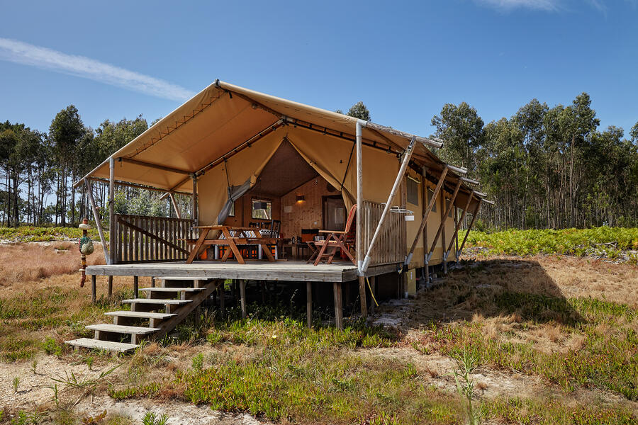 Small-scale ecological glamping on the Silver Coast. #2