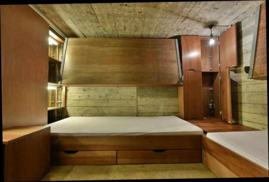 Sleeping in a Bunker! #2