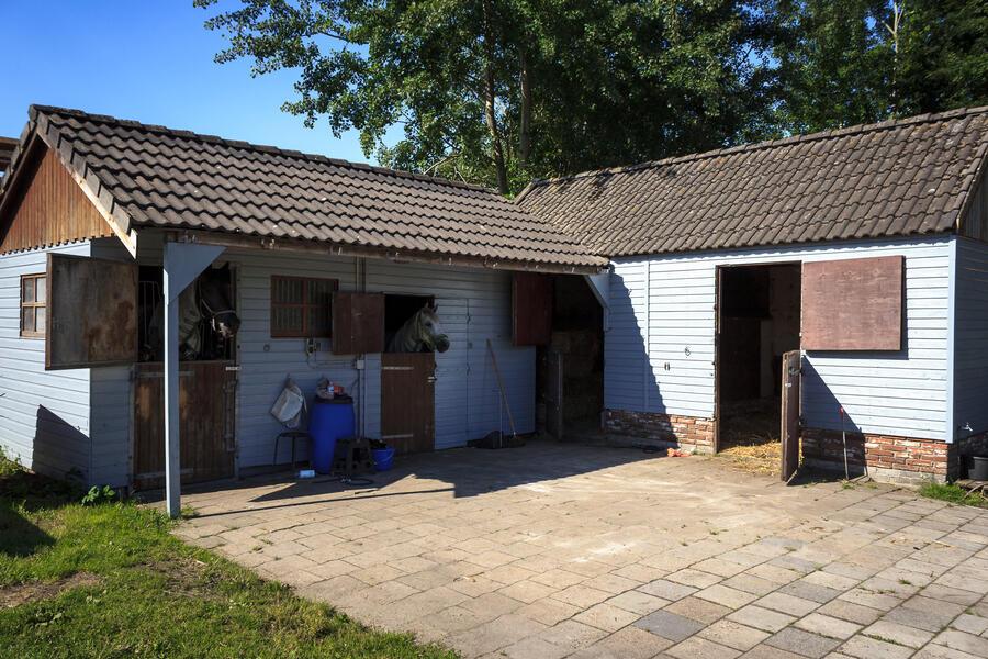 Kamperen op boerderij in Veendam