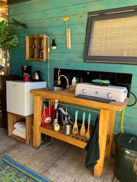 Retro caravan with private sauna en sanitary facilities in Utrecht #2
