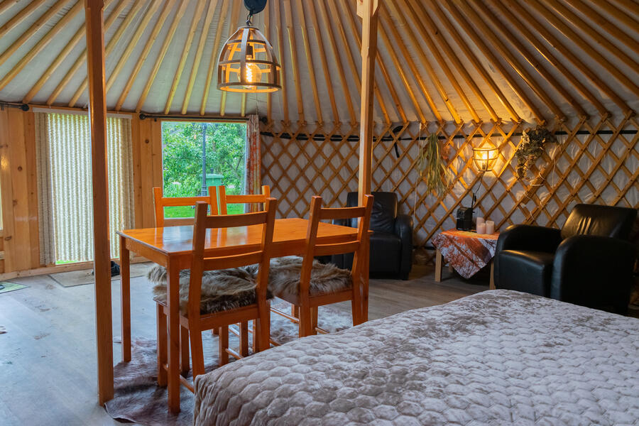 Cozy yurt in a small orchard! #2