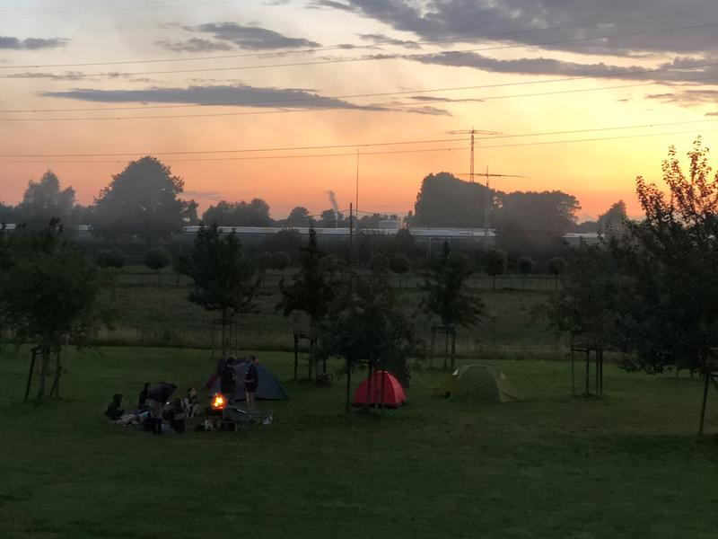 Camping among all the green #5