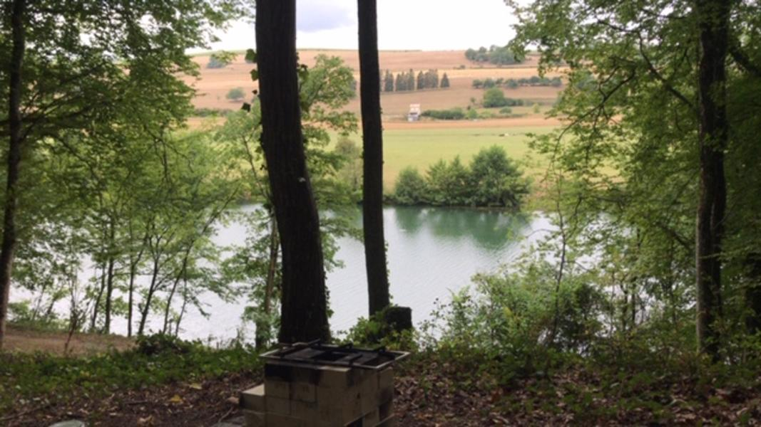 Primitive camping or bushcrafting in the French Ardennes #5